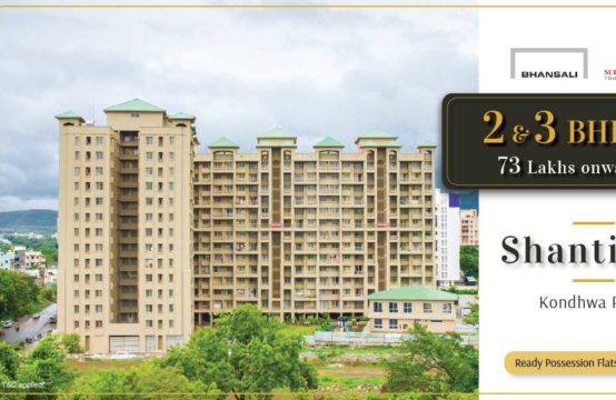 Shantiban – 2 & 3 BHK Luxurious Flats in Gangadham Annex